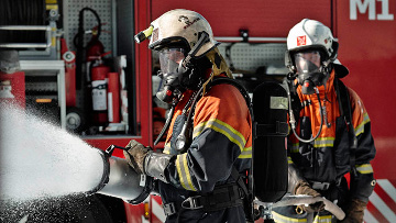Escolas de bombeiros em Angola ou África